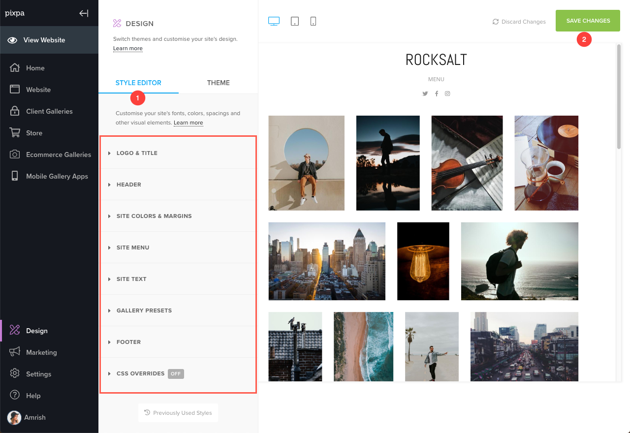 f6989a99c As you can see, the Style Editor provides all the style properties of  individual elements of your website and you can easily edit and customize  these ...